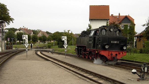 Eisenbahnstimmung in Kühlungsborn West beim Molli - Foto: Volker Seidel, Münchberg